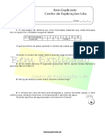 4.3 - Proporcionalidade Direta - Ficha de Trabalho (1)