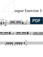 Tongue Exercises Method for Trumpet N.3