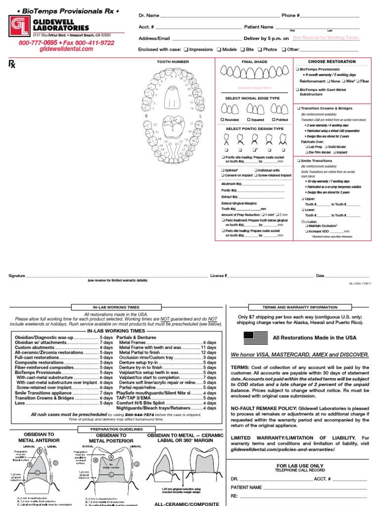 Rx Dentist Biotemps[1] | Dental Implant | Dentures