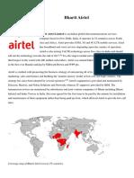 Bharti Airtel Intro
