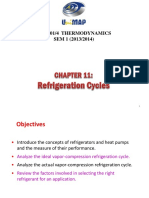 Chapter 11-Refrigeration Cycles