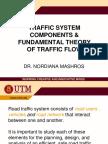 20152016 Fundamental Theory of Traffic Flow