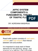 20152016 Fundamental Theory of Traffic Flow