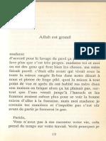 Allah Est Grand. Saumont[439]