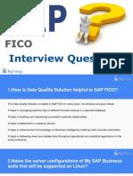 SAP FICO FAQs(1)