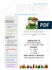 weekly newsletter-feb25 mar 2