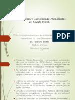 Presentación REDES V LARS BRASIL 2017 en Español