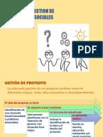 3 Diseño de Gestion de Proyectos Sociales