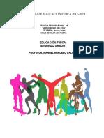 Planeación Bloque 4 Ed. Física