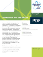 448 Dental Care and Oral Health