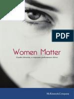 Mckinsey Women Matter