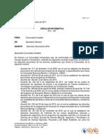 Circular 210 - 037 Derechos Pecuniarios 2018