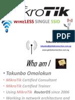 Wireless Single SSID