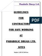 Contractor Safety Guidelines - Bilingual