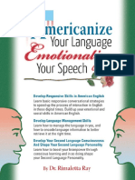 Americanize Your Language and E - Rimaletta Ray