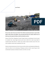 Kliping Pekerjaan Beresiko Di Pesisir Pantai