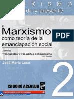 El Marxismo Como Teoria de La Emancipacion Social - José Maria Laso Prieto