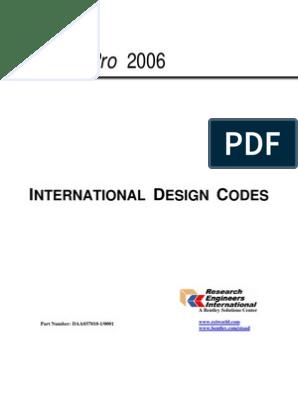 International Design Codes | Beam (Structure) | Bending