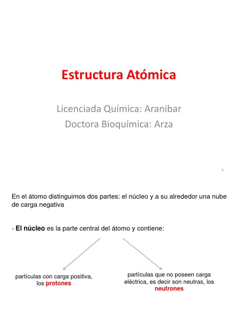 Estructura Atomica1 Pdf