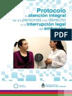 Protocolo para la interrupción legal del embarazo
