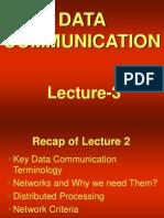 data communication - cs601 power point slides lecture 03