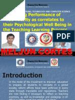 MELJUN CORTES  Research TCU RESEARCH CETCS Research 3rd Metro South Presentation