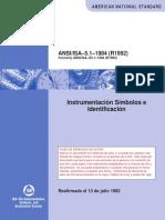 Ansi Isa - Instrumentation Symbols and Identification