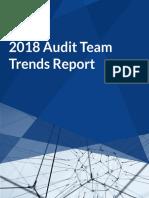 2018 Audit Team Trends Report