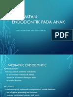 Kuliah Endodontik Pada Anak