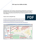 Geospatial PDF Maps From OSM With GDAL