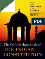 Oxford Handbook of Indian Constitution