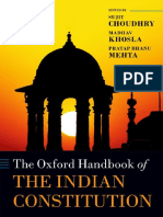 Oxford Handbook of Indian Constitution