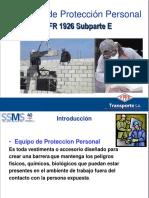 1. Equipo de Proteccion Personal 2014