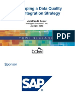 SAP Data Quality