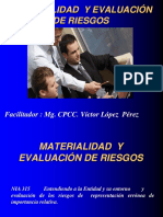 Materialidad. y Riesgos de Auditoria