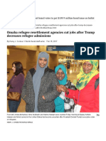 omaha refugee resettlement agencies cut jobs after trump decreases refugee admissions   omaha metro   omaha