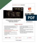 E-Voucher — Indonesian Basketball League Series 4 Jakarta
