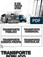 Clases de Transporte Terrestre.