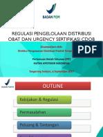 070917 Hanetje Gustaf Kakerissa Regulasi Pengelolaan Distribusi Obat Dan Urgency Sertifikasi Cdob