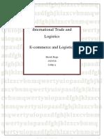 International Trade and Logistics