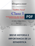 Clase 1- Estadistica