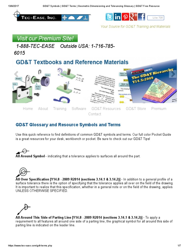 Gdt Symbols Gdt Terms Geometric Dimensioning And Tolerancing