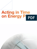 Acting in Time on Energy Policy her