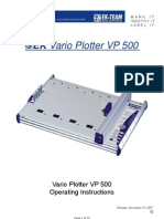 Manual Plotter VP 500