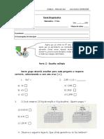 Matematica Teste Diagnostico 5 Ano