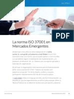 La Norma ISO 37001 en Mercados Emergentes