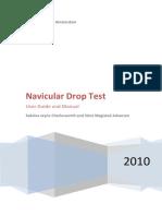 Navicular Drop Test Protocol
