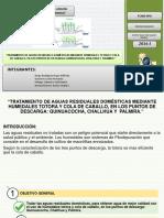 Humedales Totora y Colla de Caballo. 1