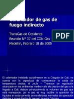 Acta 37 Calentador de Gas de Fuego Indirecto