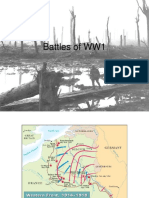 battles of ww1